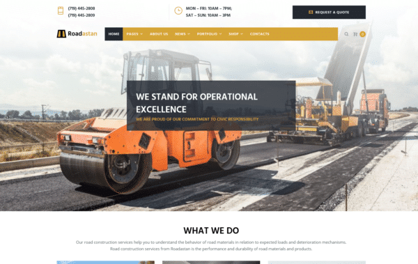 WordPress Kotisivut – Roadastan