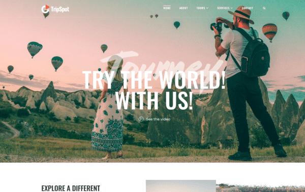 WordPress Kotisivut – TripSpot
