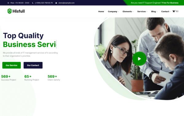 WordPress Kotisivut – Hisfull Business