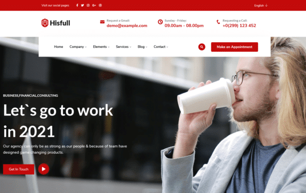 WordPress Kotisivut – Hisfull Corporate