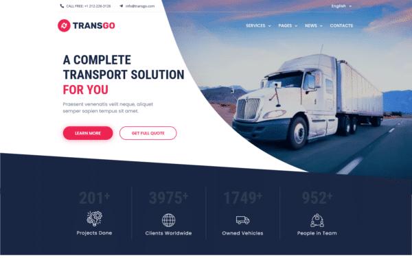 WordPress Kotisivut – TransGo
