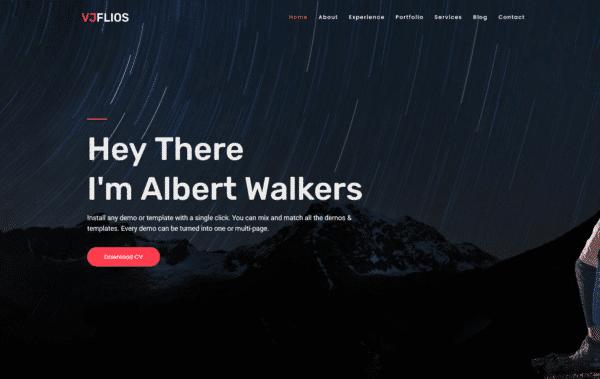 WordPress Kotisivut – Vjflios
