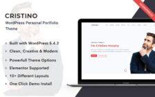 WordPress Kotisivut – Cristino