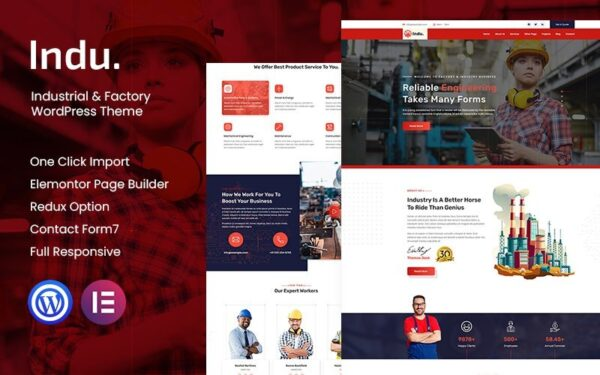 WordPress Kotisivut – Indu