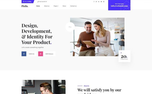 WordPress Kotisivut – Pixila