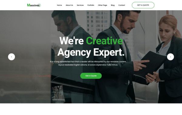 WordPress Kotisivut – Massivex