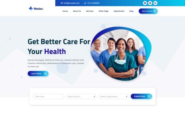 WordPress Kotisivut – Medex
