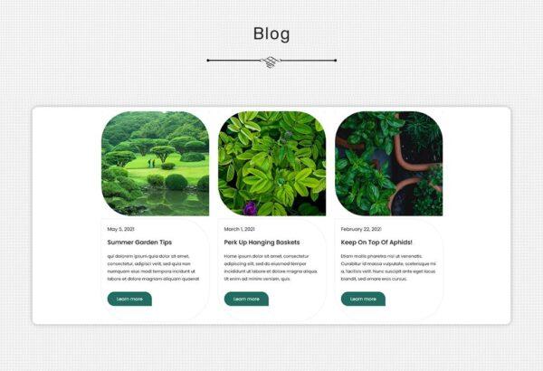 WordPress Kotisivut – GeoGarden