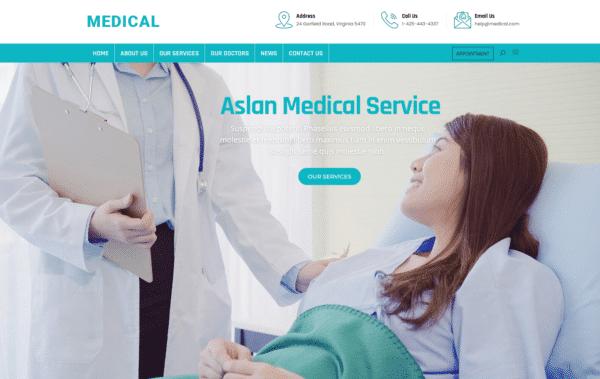 WordPress Kotisivut – Aslan Medical