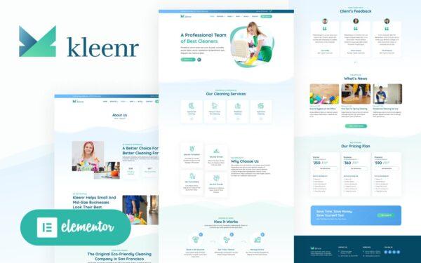 WordPress Kotisivut – Kleenr