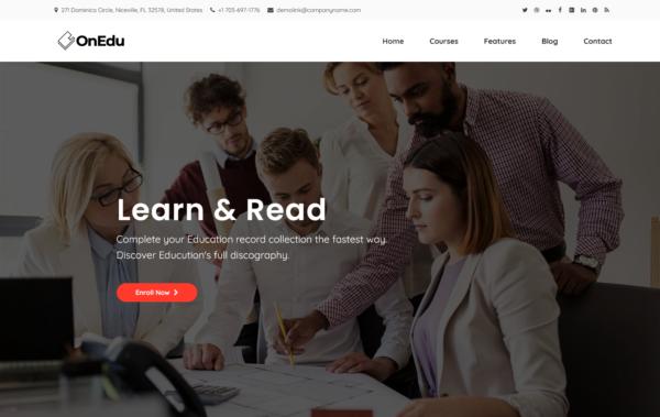 WordPress Kotisivut – Onedu