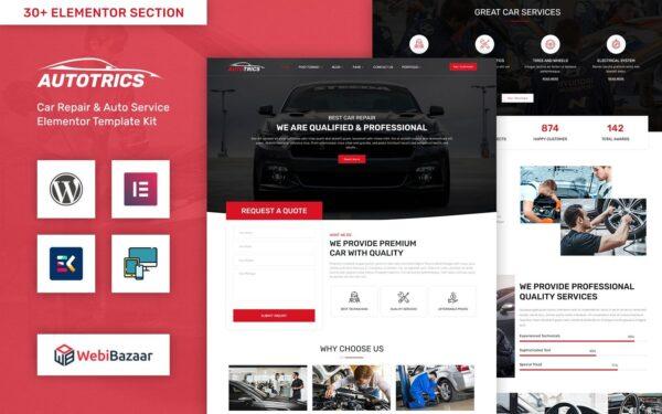WordPress Kotisivut – Autotrics