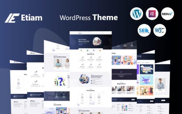 WordPress Kotisivut – Etiam