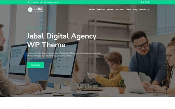 WordPress Kotisivut – Jabal