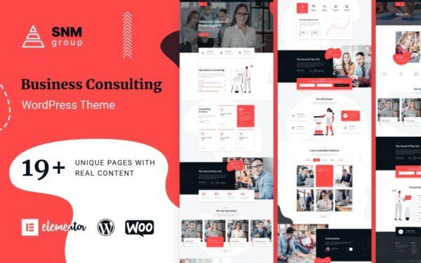 WordPress Kotisivut – SNMGroup