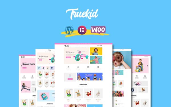 WooCommerce Verkkokauppa – Truekid
